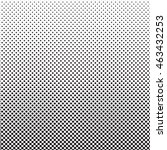 halftone dots pattern. dotted... | Shutterstock .eps vector #463432253