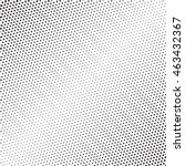 halftone dots pattern. dotted... | Shutterstock .eps vector #463432367