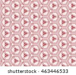seamless pattern of repeating... | Shutterstock . vector #463446533