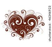 heart   Shutterstock .eps vector #46346923