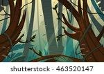 cartoon illustration of the... | Shutterstock .eps vector #463520147
