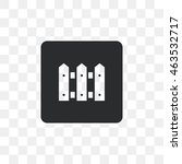 icon fence. | Shutterstock .eps vector #463532717