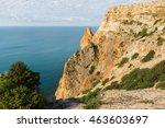 beautiful cape fiolent  russia   Shutterstock . vector #463603697