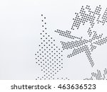 background sheet of metal... | Shutterstock . vector #463636523