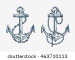 Vector Hand Drawn Nautical...