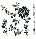 vector ornamental decorative...