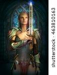 3d computer graphics of a fairy ... | Shutterstock . vector #463810163