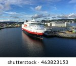 july 27th  2016   trondheim ... | Shutterstock . vector #463823153