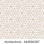 complex geometry pattern.... | Shutterstock .eps vector #463836287