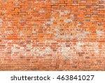 Dirty Red Brick Wall Backgroun...