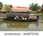 ayutthaya  thailand   july 30 ... | Shutterstock . vector #463873763