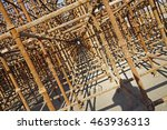 urban construction buildings... | Shutterstock . vector #463936313