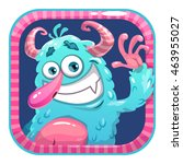 app icon with blue fluffy funny ...