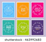 vector collection of... | Shutterstock .eps vector #463992683