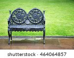 Decorative Wrought Iron Bench...