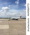Small photo of Dusseldorf, Germany-July 27,2016: British airway airplane take off from Dusseldorf International Airport. British Airway is the largest airline in the UK.