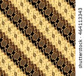 seamless batik pattern.able to... | Shutterstock . vector #464113343