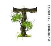 tree font on white background... | Shutterstock .eps vector #464156483