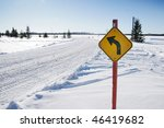 Trail Indication For Snow...