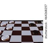 3d illustration of chess ... | Shutterstock . vector #464268257