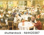 blurred photo of people in dim... | Shutterstock . vector #464420387