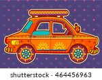 Vector Design Of Taxi Cab In...