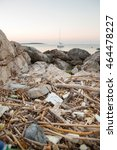 Heap Of Trash Beside The Sea....