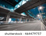 empty city road surface floor... | Shutterstock . vector #464479757