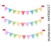 festive ribbon | Shutterstock .eps vector #464506217