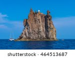 isola strombolicchio with...   Shutterstock . vector #464513687