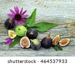 Fresh Purple And Green Figs...
