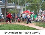 spring lake  nj usa  july 11 ... | Shutterstock . vector #464568947