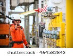 operator or worker recording... | Shutterstock . vector #464582843