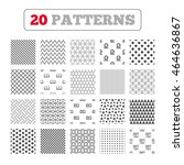 ornament patterns  diagonal... | Shutterstock .eps vector #464636867