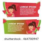 two banner for web design....   Shutterstock .eps vector #464700947