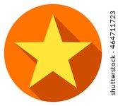 star icon or logo flat design... | Shutterstock .eps vector #464711723