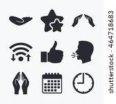 Hand Icons. Like Thumb Up...