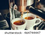 Fresh Coffee Prepared In The...
