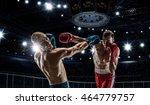 professional box match . mixed... | Shutterstock . vector #464779757