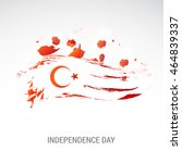 creative illustration for... | Shutterstock .eps vector #464839337