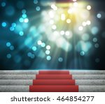 stage lighting background 3d | Shutterstock . vector #464854277
