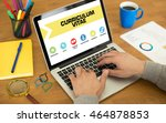 curriculum vitae concept on...   Shutterstock . vector #464878853