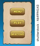 menu game screen game asset