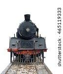 Front Train Locomotive Steam...