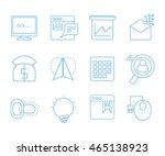 web and seo icons set for web...