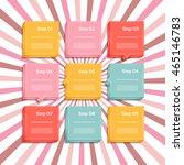 vector progress background  ...   Shutterstock .eps vector #465146783