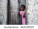 editorial use. children in... | Shutterstock . vector #465190337