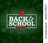 Back To School Background On...