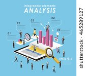 business analysis concept with...   Shutterstock .eps vector #465289127