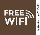 wifi free icon | Shutterstock .eps vector #465299093